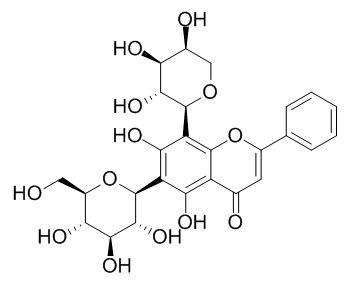白杨素 6-C-葡萄糖 8-C-阿拉伯糖苷
