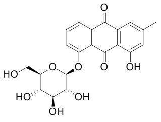 大黄酚-8-O-葡萄糖苷