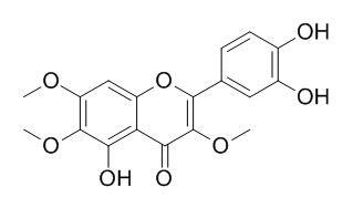 猫眼草酚D; 5,3',4'-三羟基-3,6,7-三甲氧基黄酮