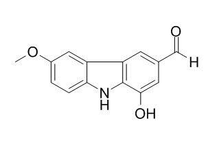 1-羟基-6-甲氧基-9H-咔唑-3-甲醛