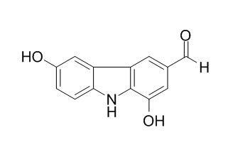 1,6-二羟基-9H-咔唑-3-甲醛