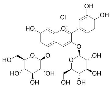 氯化失车菊素-3,5-O-双葡萄糖苷