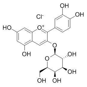 氯化失车菊素-3-O-半乳糖苷