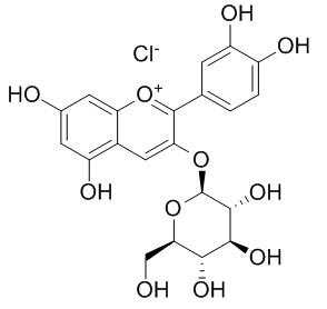 氯化失车菊素-3-O-葡萄糖苷