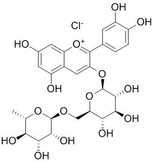 氯化失车菊素-3-O-芸香糖苷