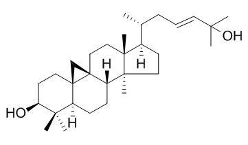 (3beta,23E)-9,19-环羊毛甾-23-烯-3,25-二醇
