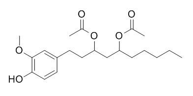 二乙酰氧基-6-姜二醇
