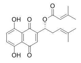 β,β-二甲基丙烯酰紫草素