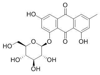 大黄素-8-β-D-吡喃葡萄糖苷