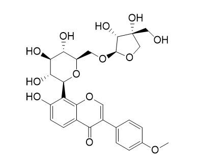 Formononetin-8-C-beta-D-apiofuranosyl-(1->6)-O-beta-D-glucopyranoside