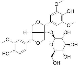 Fraxiresinol 1-O-glucoside