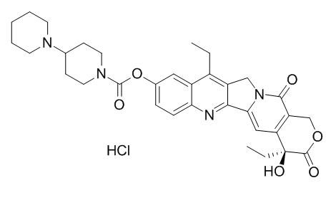 Irinotecan hydrochloride | CAS:100286-90-6 | Product Use