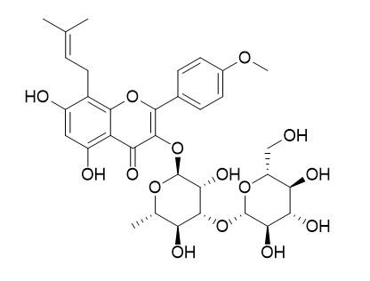 Iso-sagittatoside A