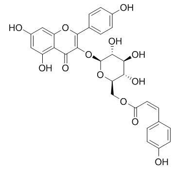 Kaempferol-3-O-(6''-O-cis-coumaryl)glucoside