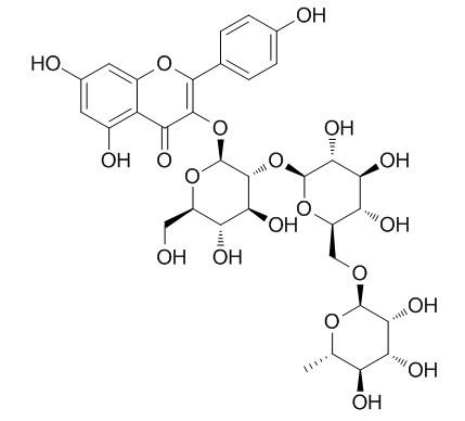 Kaempferol-3-O-¦Á-L-rhamnopyranosyl-(1->6)-¦Â-D-glucopyranosyl-(1¡ú2)-¦Â-D-glucopyranoside