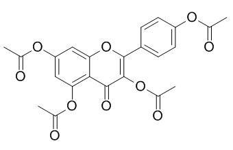 四乙酰山奈酚; 四乙酸堪非醇酯