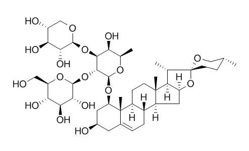 短葶山麦冬皂苷C