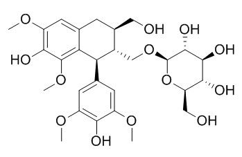 (+)-Lyoniresinol 9'-O-glucoside
