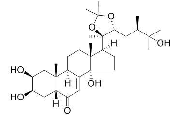 马克甾酮A-20,22-单丙酮化物
