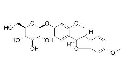美迪紫檀素-3-O-葡萄糖苷