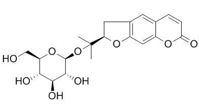 紫花前胡苷