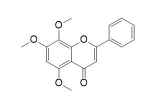 5,7,8-三甲氧基去甲汉黄芩素