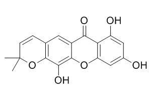 7,9,12-三羟基-2,2-二甲基-2H,6H-吡喃并[3,2-b]氧杂蒽-6-酮