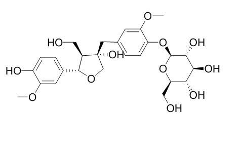 Olivil 4'-O-glucoside