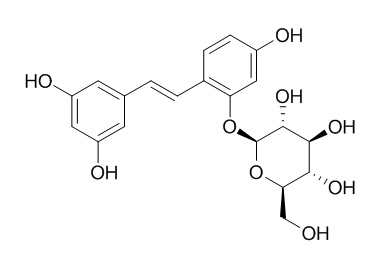 Oxyresveratrol 2-O-beta-D-glucopyranoside