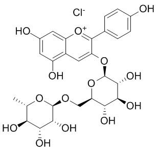 氯化天竺葵素-3-O-芸香糖苷