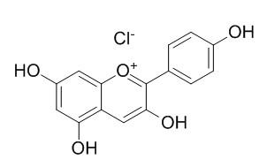 氯化天竺葵素