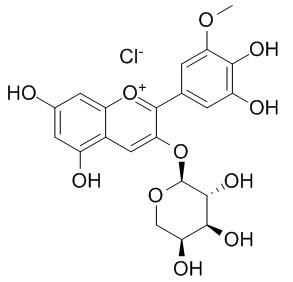 氯化矮牵牛素-3-O-阿拉伯糖苷