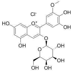 氯化矮牵牛素-3-O-半乳糖苷