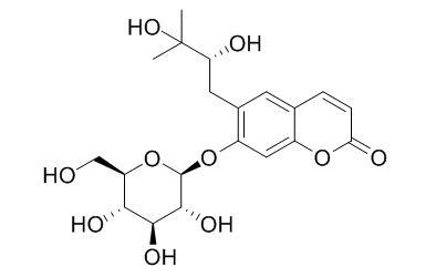 Peucedanol 7-O-glucoside