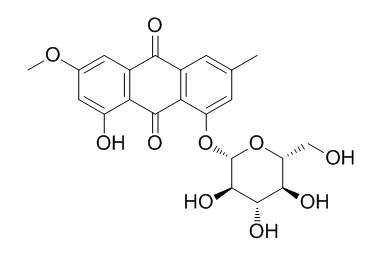 Physcion 1-O-beta-D-glucoside