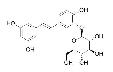 Piceatannol 3'-O-glucoside