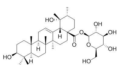 28-O-beta-D-吡喃葡萄糖果树酸酯