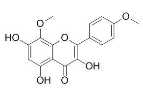 3,5,7-三羟基-8,4'-二甲氧基黄酮
