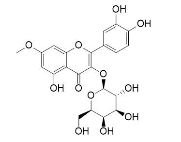 鼠李亭-3-O-半乳糖苷