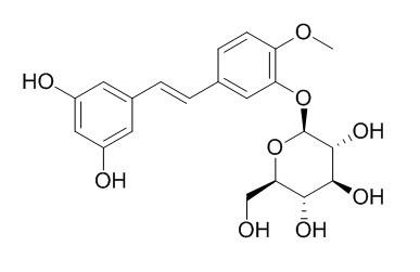 Rhapontigenin 3'-O-glucoside