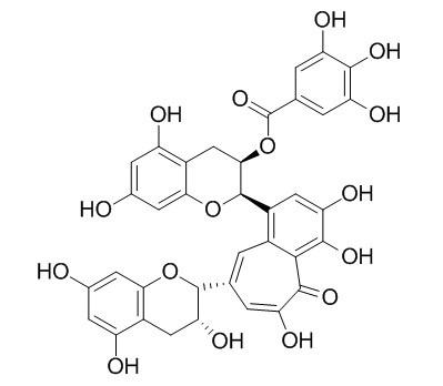 茶黄素 3-没食子酸酯