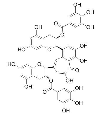 3,3'-二没食子酸酯茶黄素