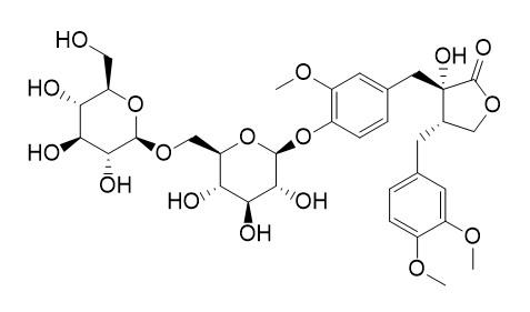Trachelogenin 4'-O-beta-gentiobioside
