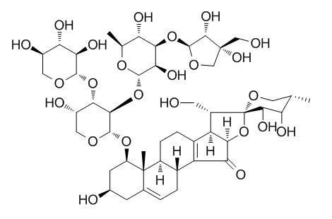 Trikamsteroside C