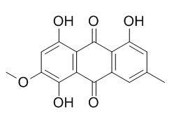 �愣至椋� 1,4,8-三羟基-6-甲基-3-甲氧基-9,10-蒽醌