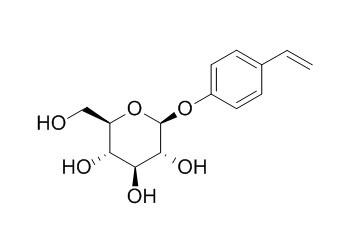 对乙烯基苯基O-BETA-D-吡喃葡萄糖苷